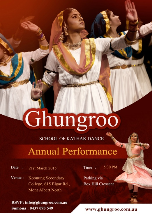 Indian Classical Dance_Flyer